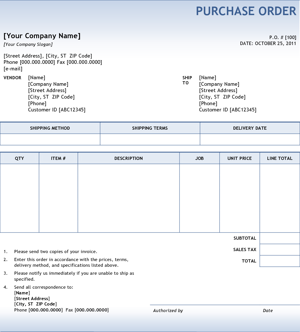 Invoice Template Examples Word All You Ever Needed To Know About Purchase Orders Goodwill Receipt Pdf with Receipt Creator App Pdf Purchase Orders Are Documents Sent From A Buyer To A Supplier With A  Request For An Order The Type Of Item The Quantity And Agreed Upon Price  Are  Simple Receipt Form Excel