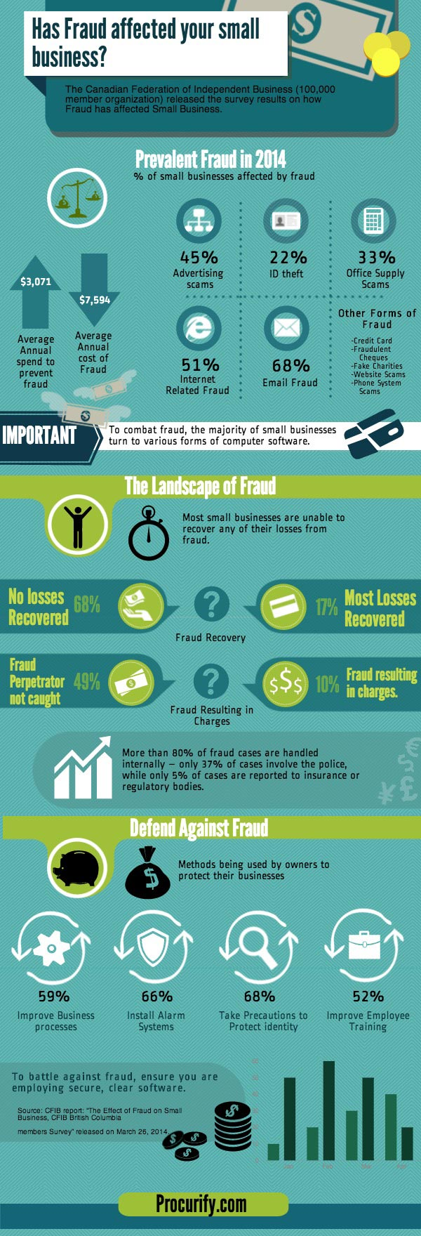 Small Business Fraud Infographic
