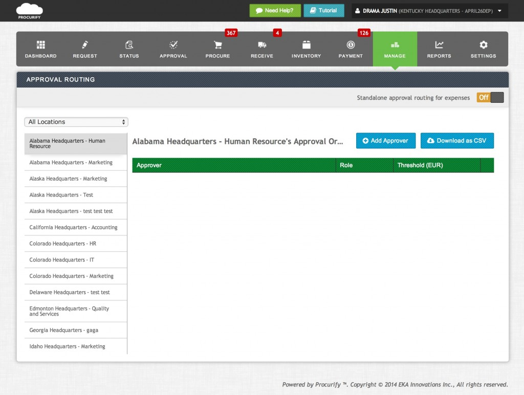 screenshot-procurify-approval-routing