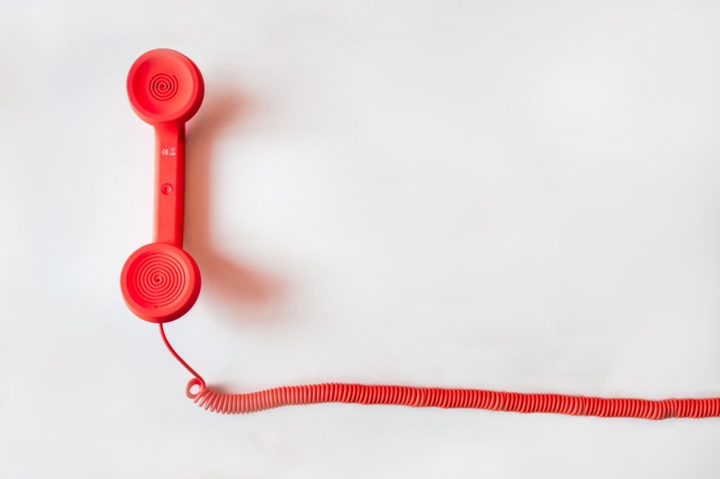 red business telephone