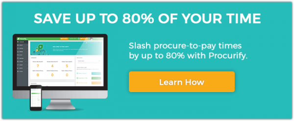 save 80% procure to pay time