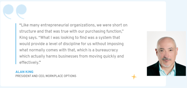 Learn how Procurify introduced discipline and audit readiness to Workplace Options