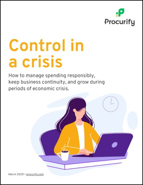Control Business Spending in an economic downturn