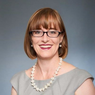 Headshot of Pamela Steer, used in blog post about sustainability of finance